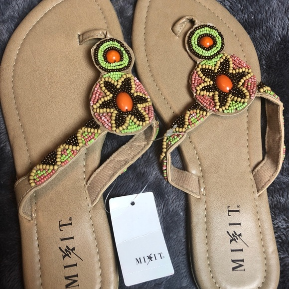 7044051e7f73 Perfect Sequin Sandals SIZE 9. NWT. jcpenney